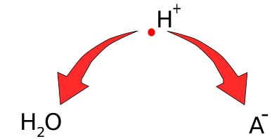 competizione per il protone