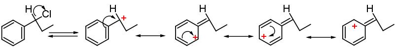 carbocatione benzilico