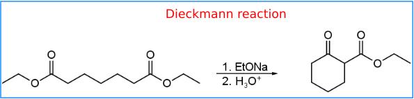 Dieckmann reazione