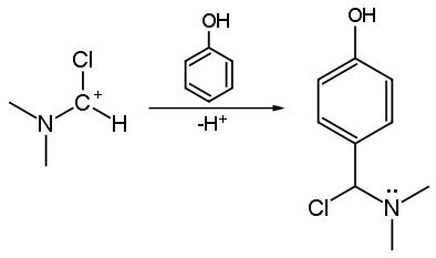 Friedel kraft cloro imminio