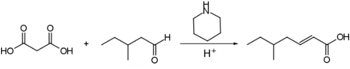complessive knoevenagel reaction