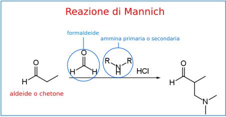 reazione di mannich