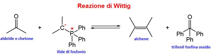 reazione generale di Wittig