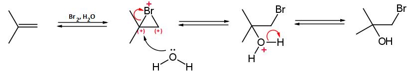 sintesi di una aloidrina