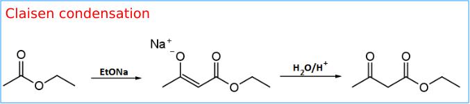 Condensazione di Claisen