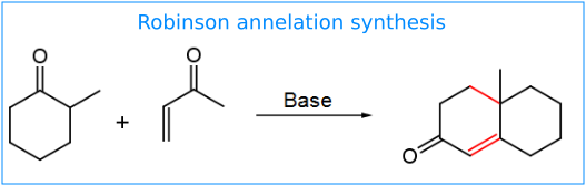 Robinson Annelation overall reaction