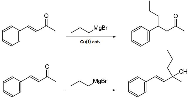 reazione di michael nucleofili al carbonio