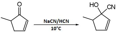 sintesi cianidrine