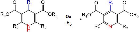 Sintesi di Hantzsch meccanismo di reazione 4