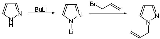 pirazolo anione azoto