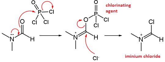 iminium-chloride-formation