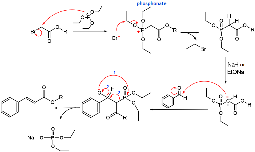 horner-wadsworth-emmons-reaction-mechanism